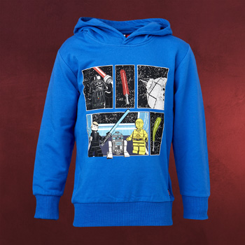 LEGO Star Wars - Both Sides Hoodie für Kinder blau