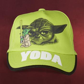 LEGO Star Wars - Meister Yoda Basecap für Kinder neongrün