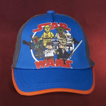 LEGO Star Wars - Figuren Basecap für Kinder blau