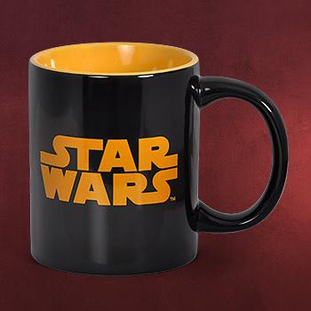 Star Wars - Logo Tasse schwarz