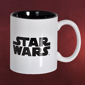 Star Wars - Logo Tasse weiß