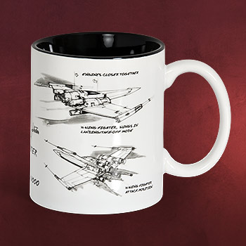 Star Wars - X-Wing Starfighter Tasse