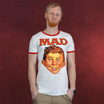 MAD - Alfred E. Neumann T-Shirt creme