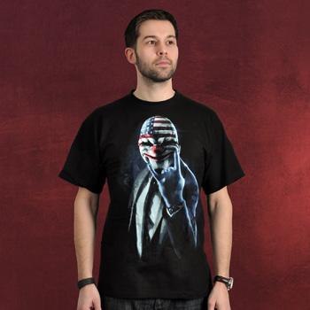 Payday 2 - Rock On T-Shirt schwarz