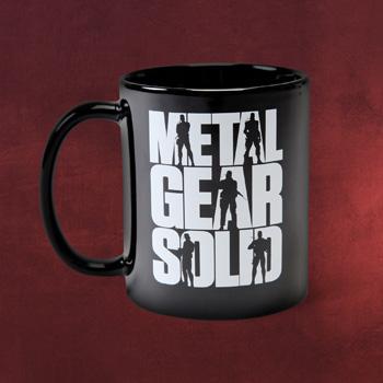 Metal Gear - Solid Logo Tasse