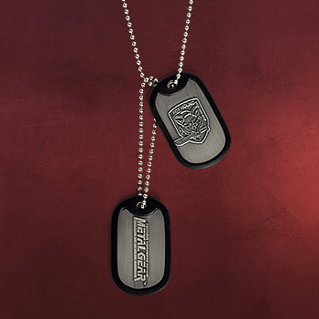 Metal Gear - Solid Fox Hound Dog-Tag Kette