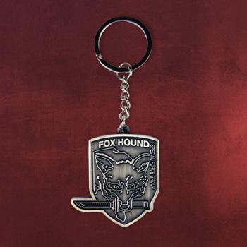 Metal Gear - Solid Fox Hound Schlüsselanhänger