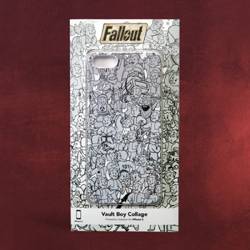 Fallout - Vault Boy Collage iPhone 5 Case
