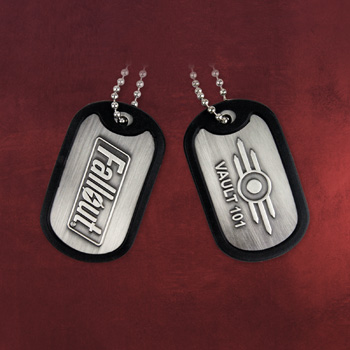 Fallout - Vault 101 Dog-Tag Kette