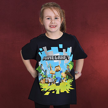 Minecraft - Adventure Kinder Shirt