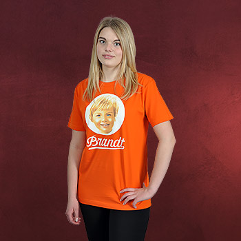 Brandt 70s T-Shirt orange