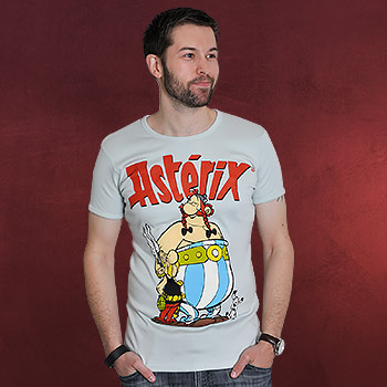 Asterix - Asterix & Obelix T-Shirt Slim Fit