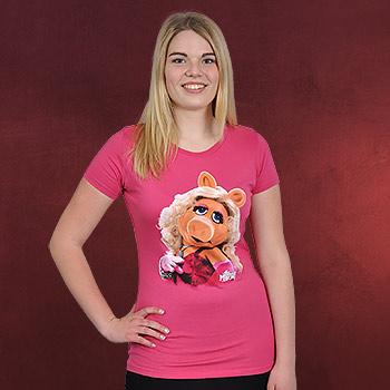 Muppets - Miss Piggy Portrait Girlie Shirt pink