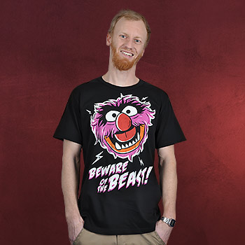 Muppets - Beware of the Beast T-Shirt schwarz