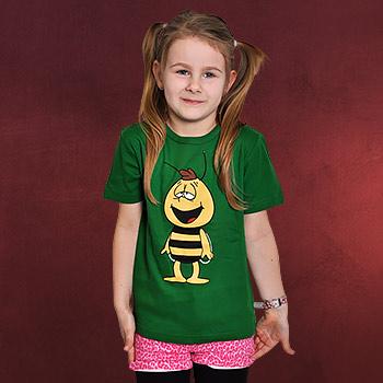 Biene Maja - Willi Kinder T-Shirt gr�n