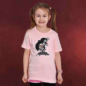 Der Kleine Maulwurf Kinder Shirt rosa
