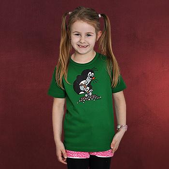 Der Kleine Maulwurf Kinder Shirt grün