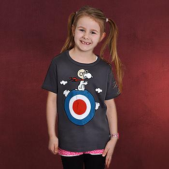Peanuts - Snoopy Kinder T-Shirt grau