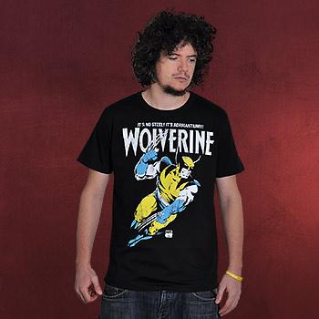 Wolverine - Adamantium T-Shirt schwarz