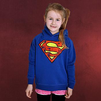 Superman - Logo Hoodie für Kinder