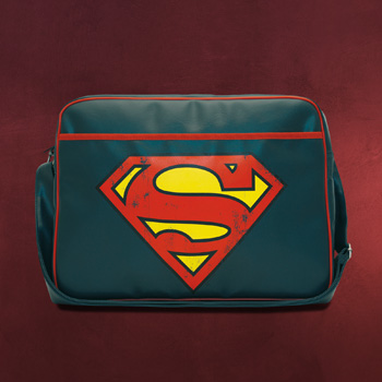 Superman - Retro Logo Tasche