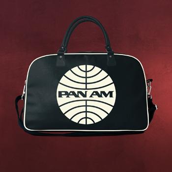 PAN AM Logo Reisetasche navy