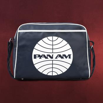 PAN AM Logo Umh�ngetasche navy