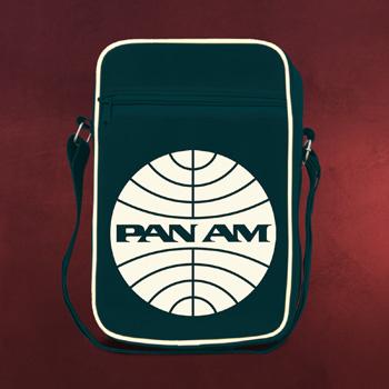 PAN AM - Logo Schultertasche navy