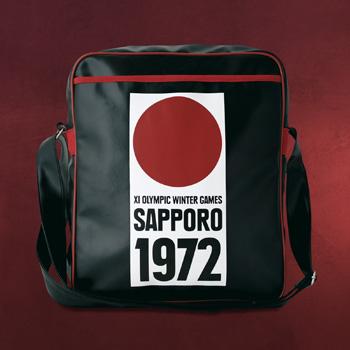 Sapporo 1972 Umhängetasche schwarz