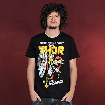 Thor - For Asgaaard! T-Shirt schwarz