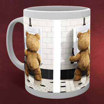 Ted - Bathroom Tasse