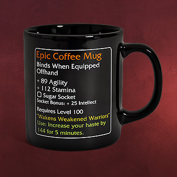 Epic Coffee Mug - MMO Item Fan Tasse