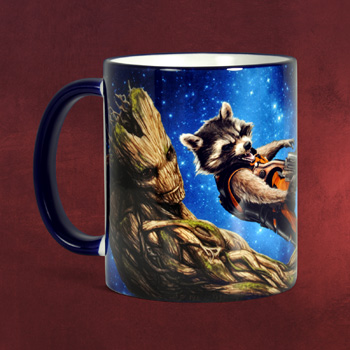 Guardians of the Galaxy - Rocket und Groot Tasse