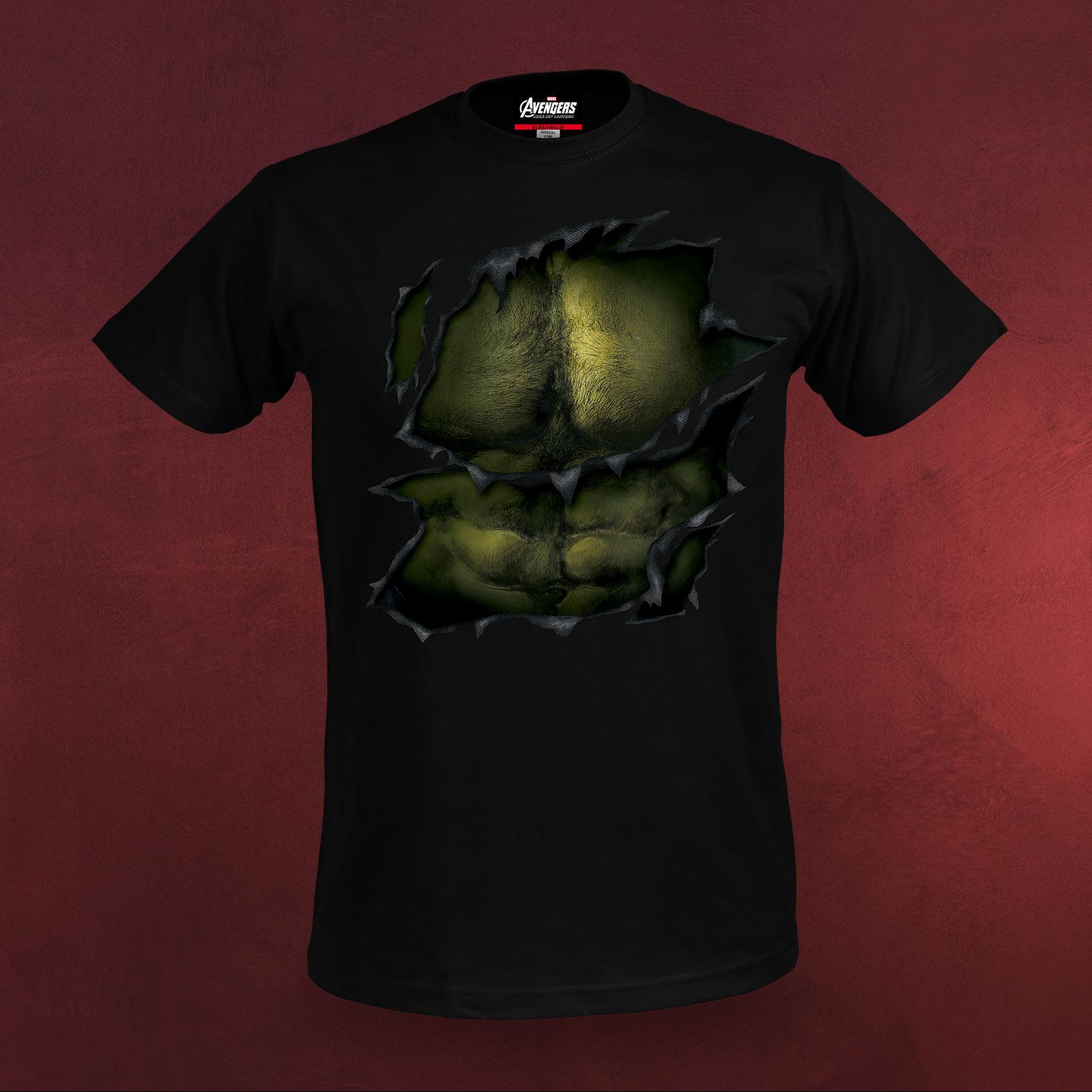 avengers age of ultron hulk muskel t shirt marvel lizenziert bw schwarz ebay. Black Bedroom Furniture Sets. Home Design Ideas
