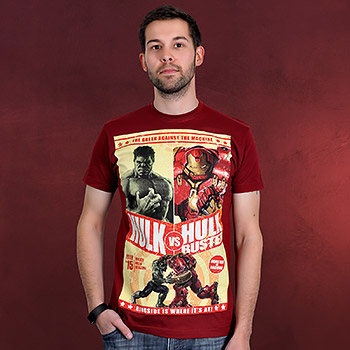Avengers - Hulkbuster T-Shirt rot