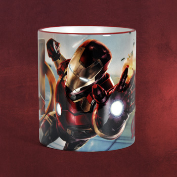 Avengers - Iron Man Tasse rot