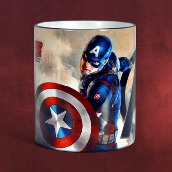 Avengers - Captain America Tasse blau