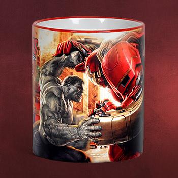 Avengers - Hulkbuster Tasse schwarz