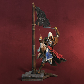 Assassins Creed IV - Edward Kenway Master of the Seas Statue
