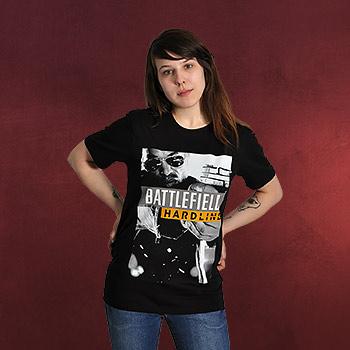 Battlefield - Hardline Poster T-Shirt schwarz