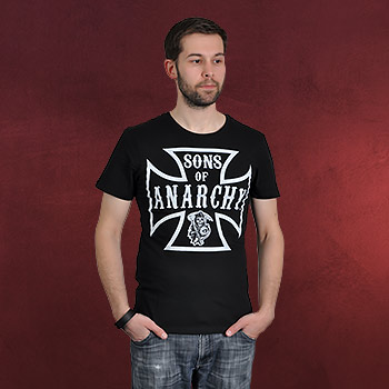 Sons of Anarchy - Logo T-Shirt schwarz