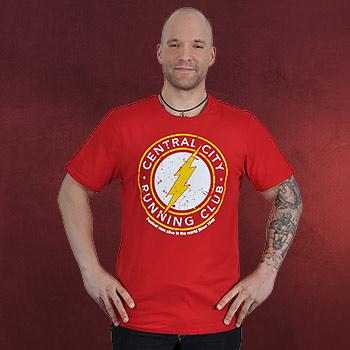 Flash - Running Club T-Shirt rot