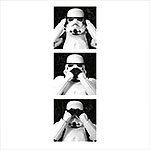 Star Wars - Three Troopers T-Shirt wei�