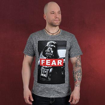 Star Wars - Darth Vader Fear T-Shirt schwarz