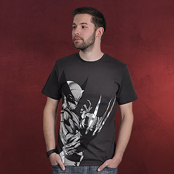 Wolverine Comic T-Shirt anthrazit
