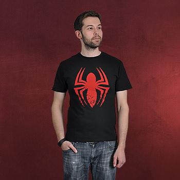 Spider-Man - Amazing Logo T-Shirt schwarz
