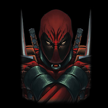Deadpool - Marvel T-Shirt schwarz