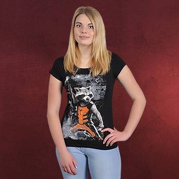 Guardians of the Galaxy - Rocket Raccoon Girlie Shirt
