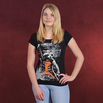 Guardians of the Galaxy - Rocket Raccoon Girlie Shirt
