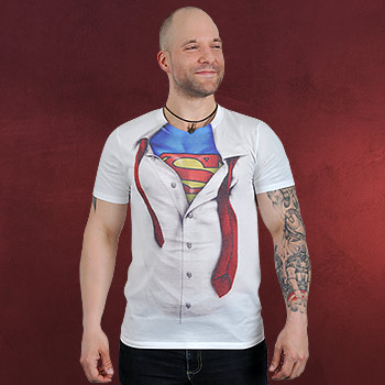 Superman - Clark Kent T-Shirt wei�